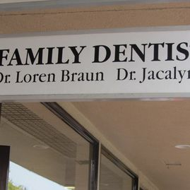 Family Dentistry Sign Board
